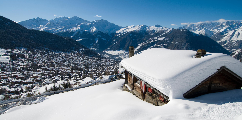 Station de sports d'hiver Verbier en Suisse