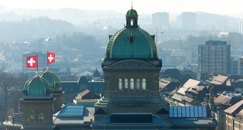 Le Département Fédéral de Justice et Police à Bern en Suisse